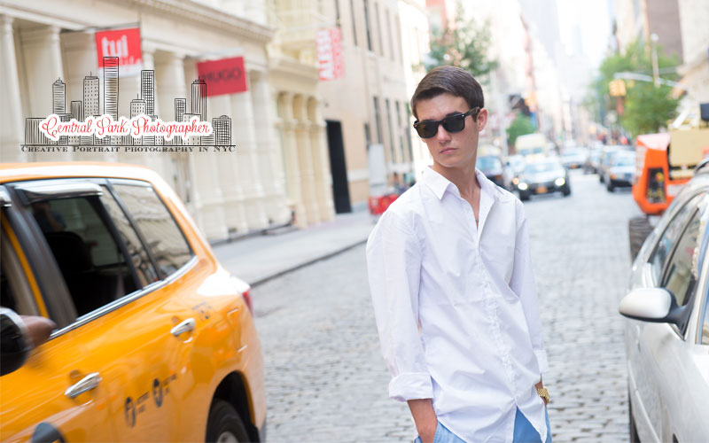 Senior Portraits in Manhattan