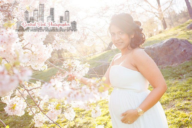 Central Park Maternity Photography